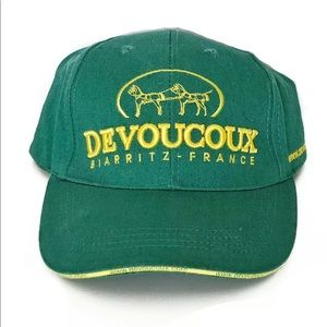 Devoucoux Saddles Biarritz France Ball Cap Hat